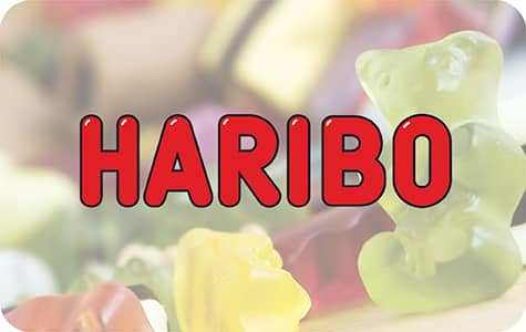 Bouton Haribo