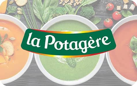 Bouton La Potagère