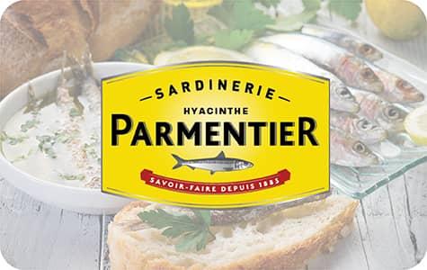 Bouton Sardinerie Hyacinthe Parmentier