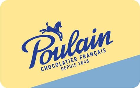 Bouton Poulain Chocolatier Français depuis 1848