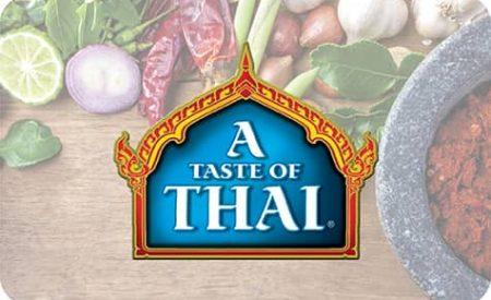 Bouton A Taste of Thai