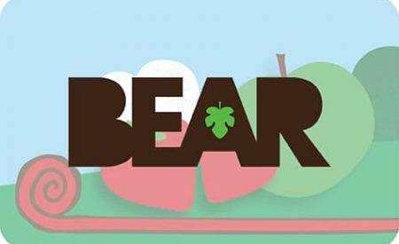 Bouton Bear