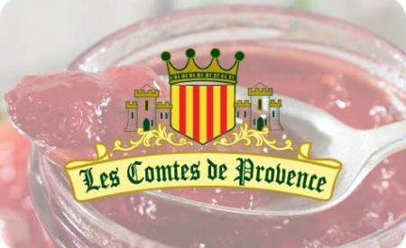 Bouton Les Comptes de Provence