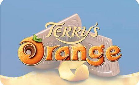 Bouton Terry's Orange